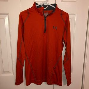 UA orange running pullover